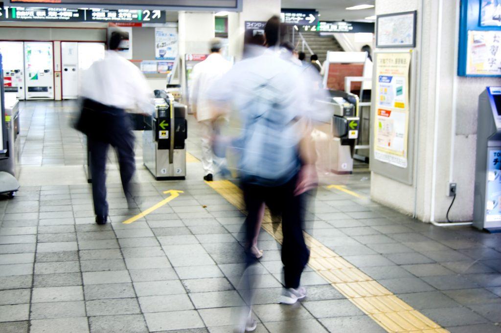通勤の下見をしてみるの画像